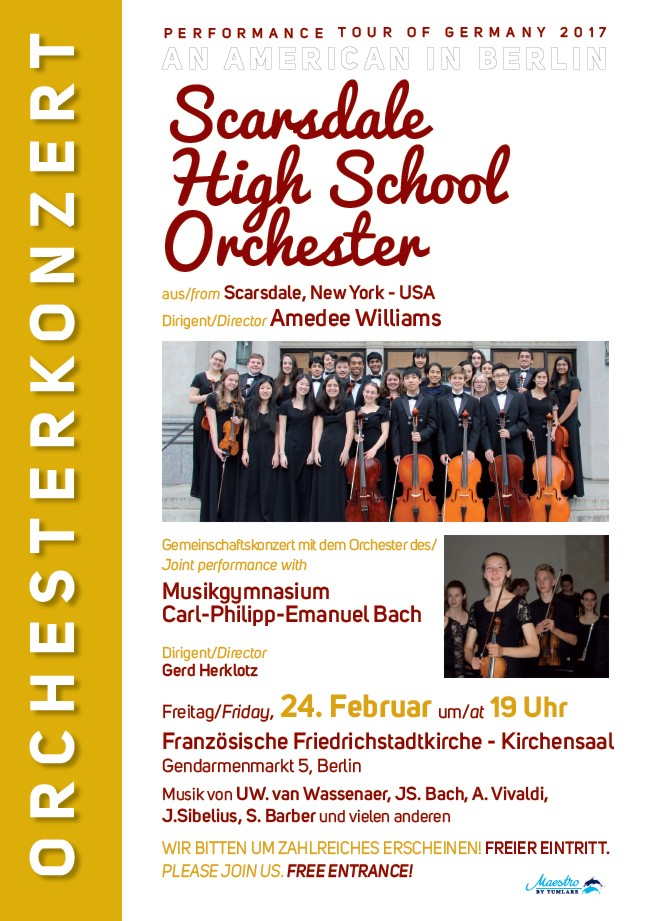 Orchester HighSchool 24022017